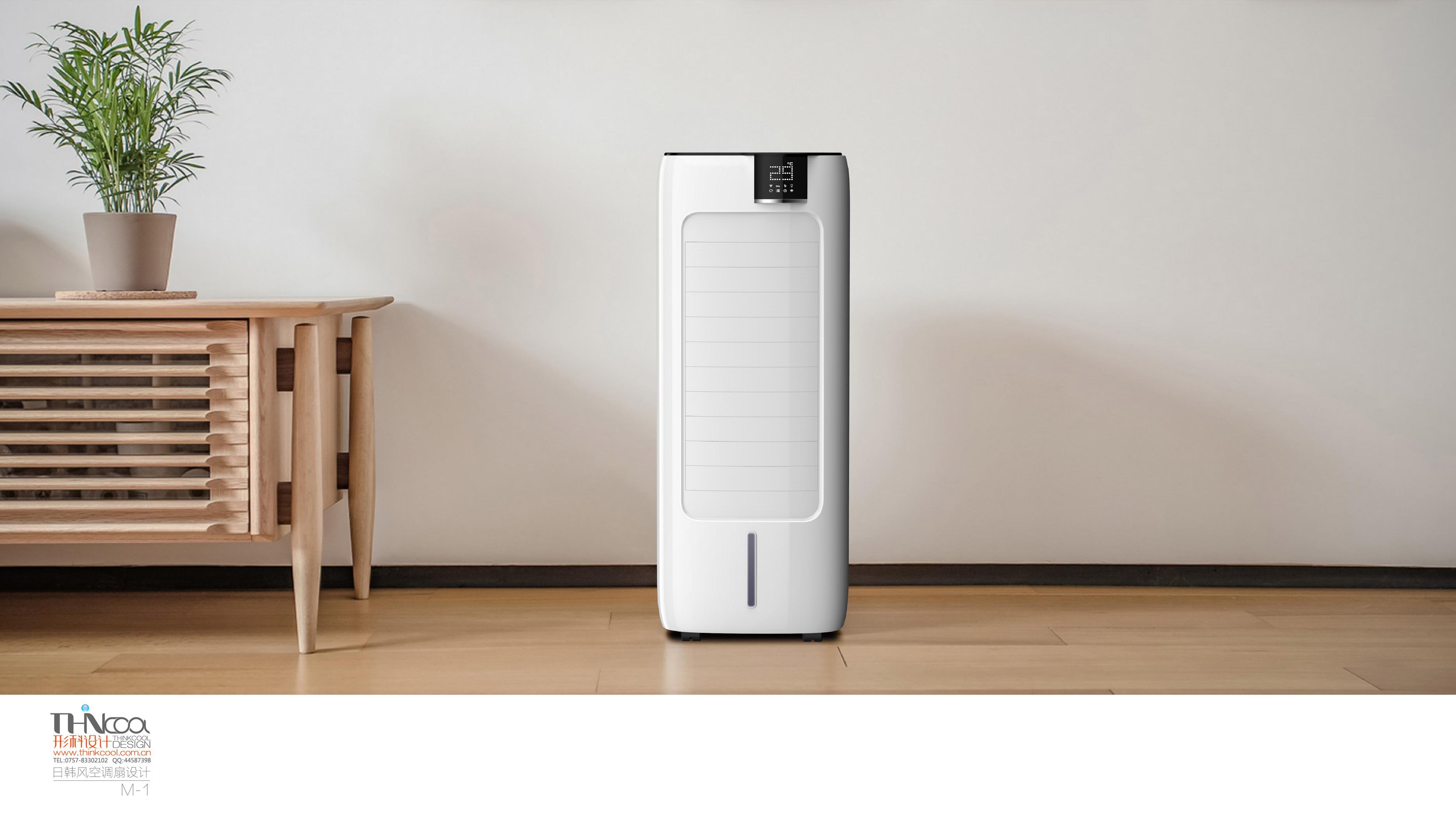 为韩国客户专属设计空调扇